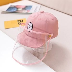Pink Kid's Protective Cap Hat Dustproof Cover